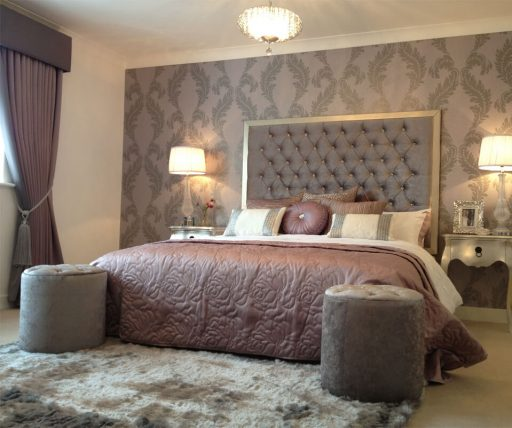 The Ackworth master bedroom