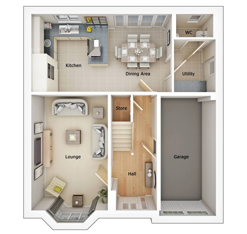 Brearley Ground Floorplan