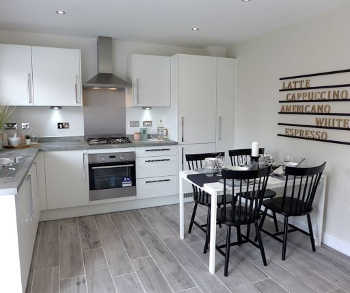 Bowland show home kitchen
