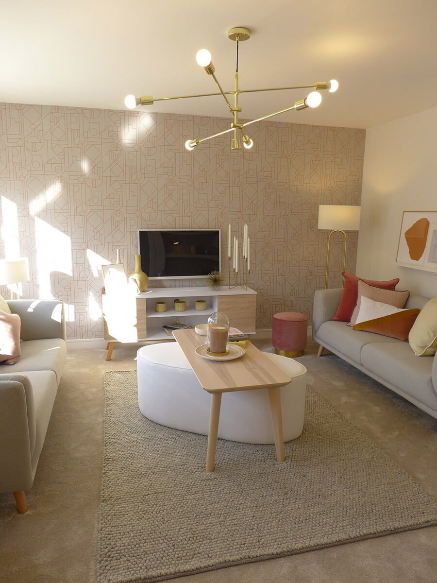 bowland show home lounge
