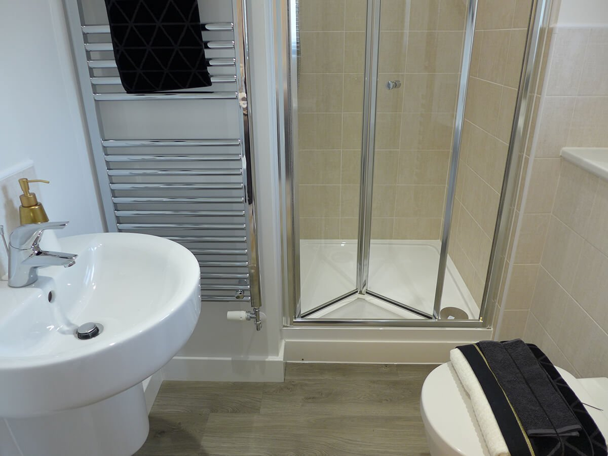 The Marsden ensuite shower