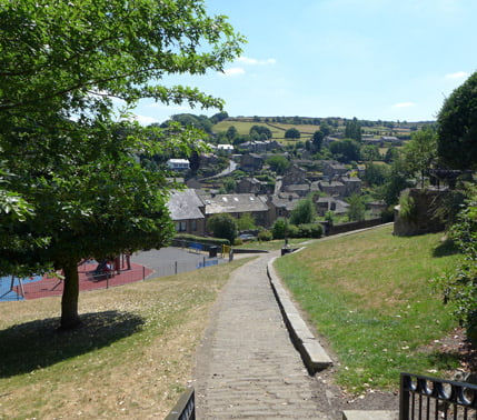 Park in Holmfirth