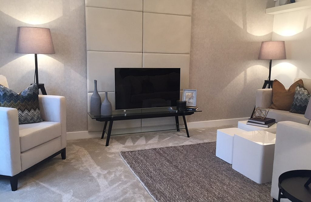 Living room lounge - Seddon Homes
