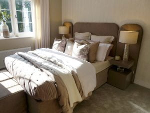 The Lawton master bedroom