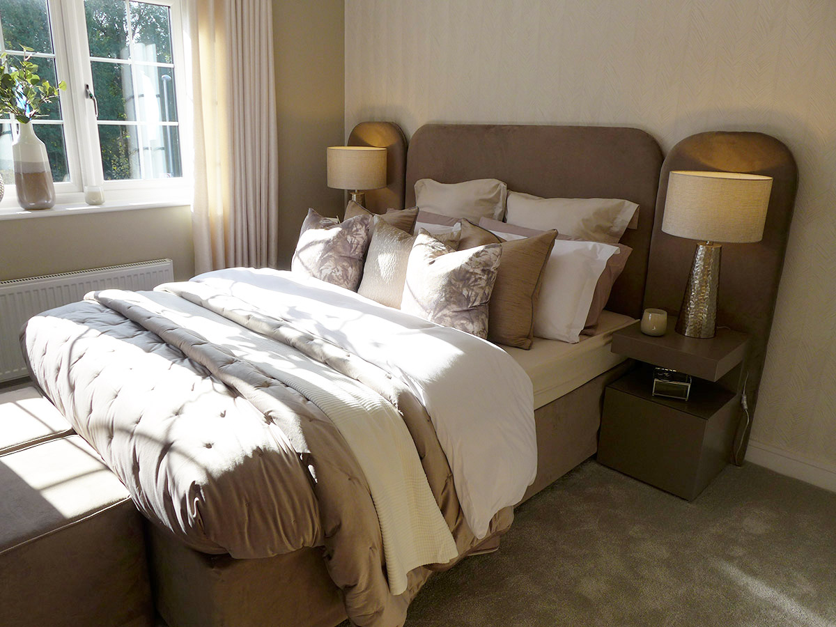 Example master bedroom