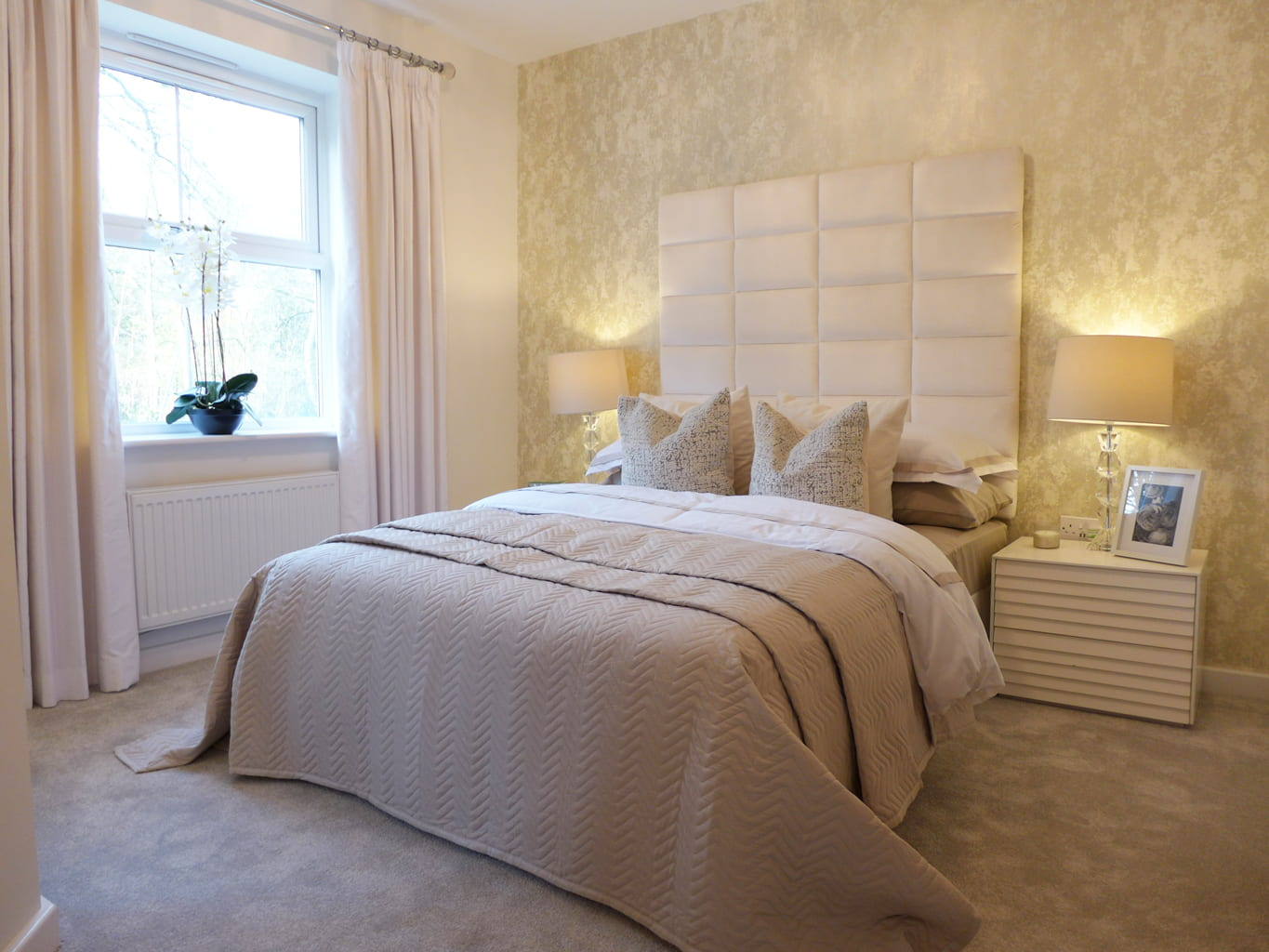 Bowland master bedroom