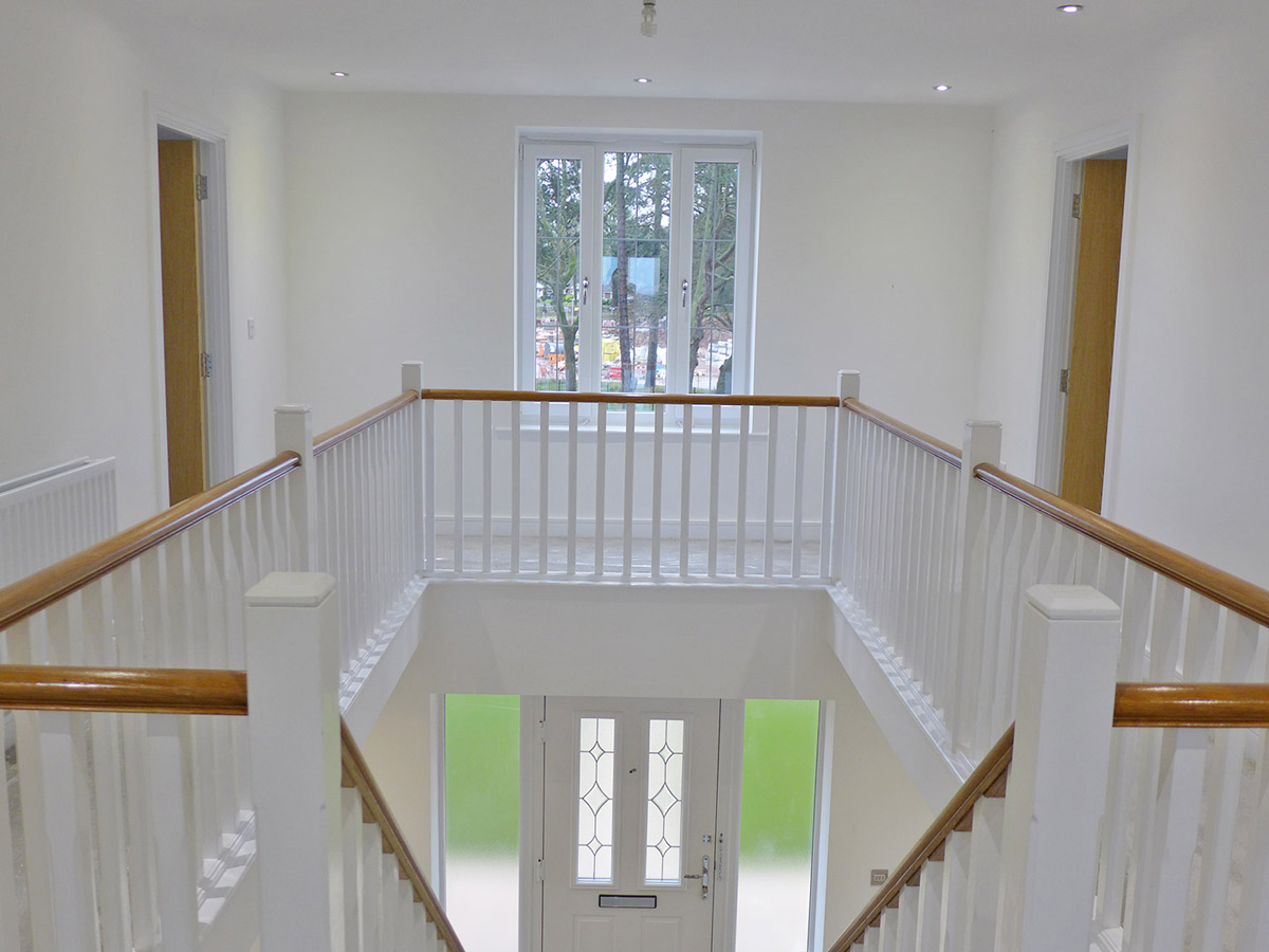 ackworth staircase and landing