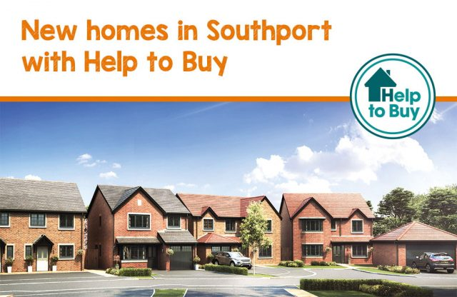 New homesin Southport with Help to Buy