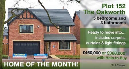 5 bedroom home The Oakworth in Sandbach, Cheshire