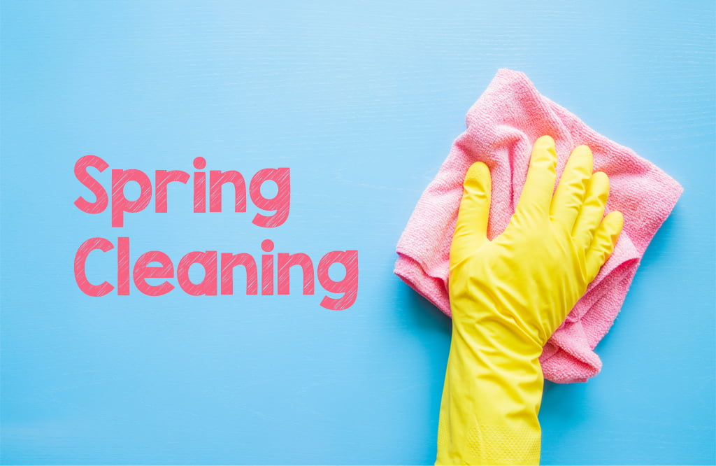 Spring cleaning checklist from Seddon Homes