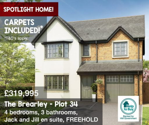 Falcon Rise The Brearley Plot 35 Carpets included