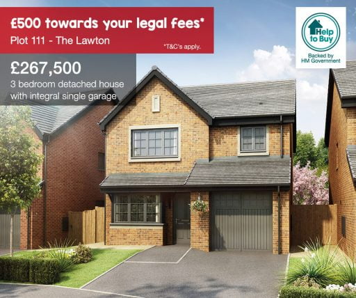 Falcon Rise, The Lawton plot 111