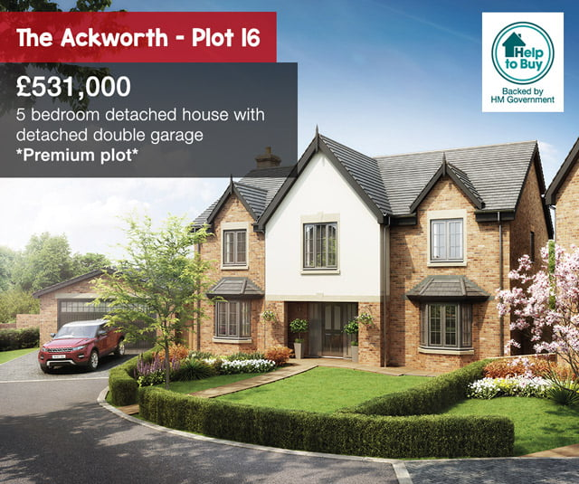 The Hawthorns, Ackworth - Plot 16