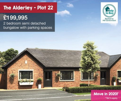 The Alderley bungalow, blossom gate