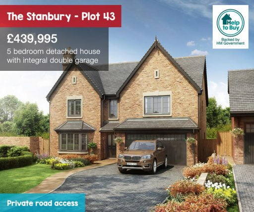 The Hawthorns The Stanbury plot 43