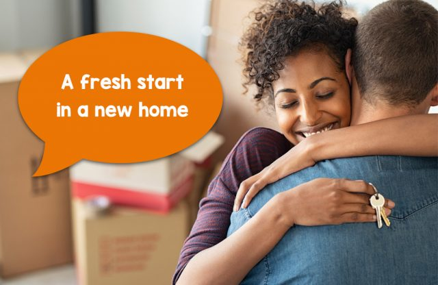 A fresh start in a new home