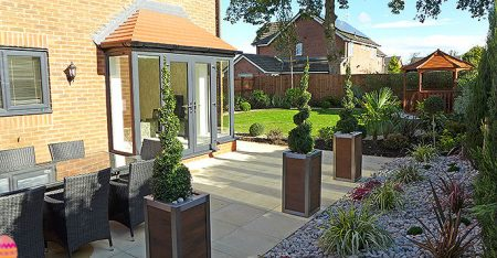 Seddon Homes The Covey Landscaped Garden In Congleton