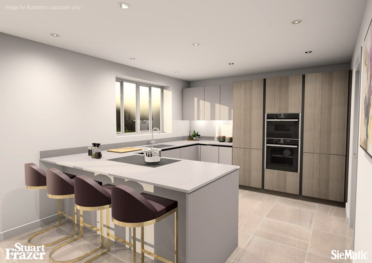 siematic kitchen cgi by stuart frazer