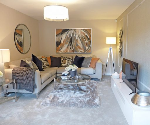 the marsden show home, lounge