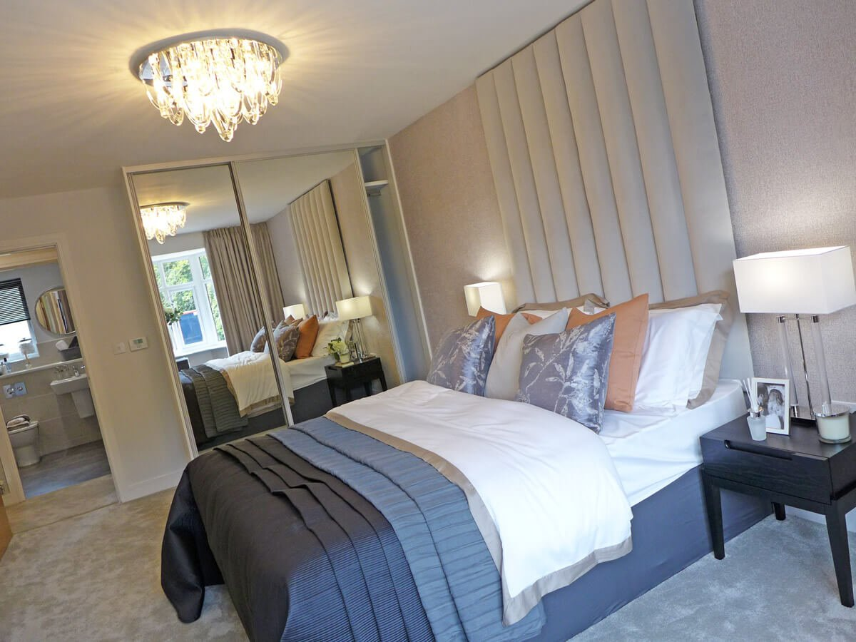 The Marsden master bedroom