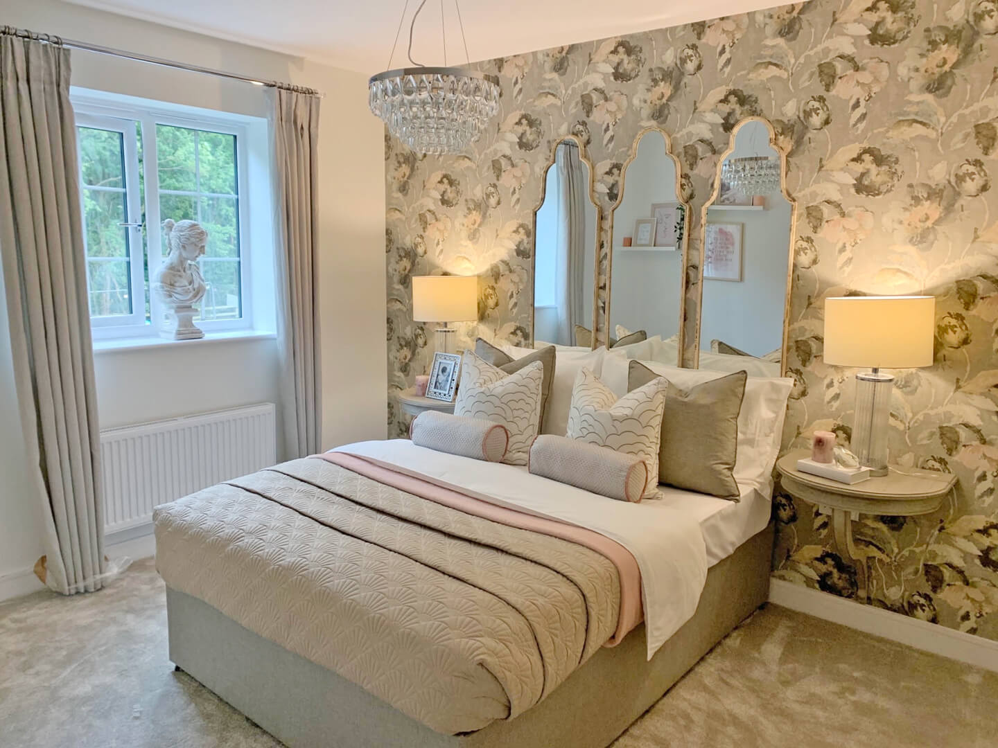 double bedroom with jack and jill en suite