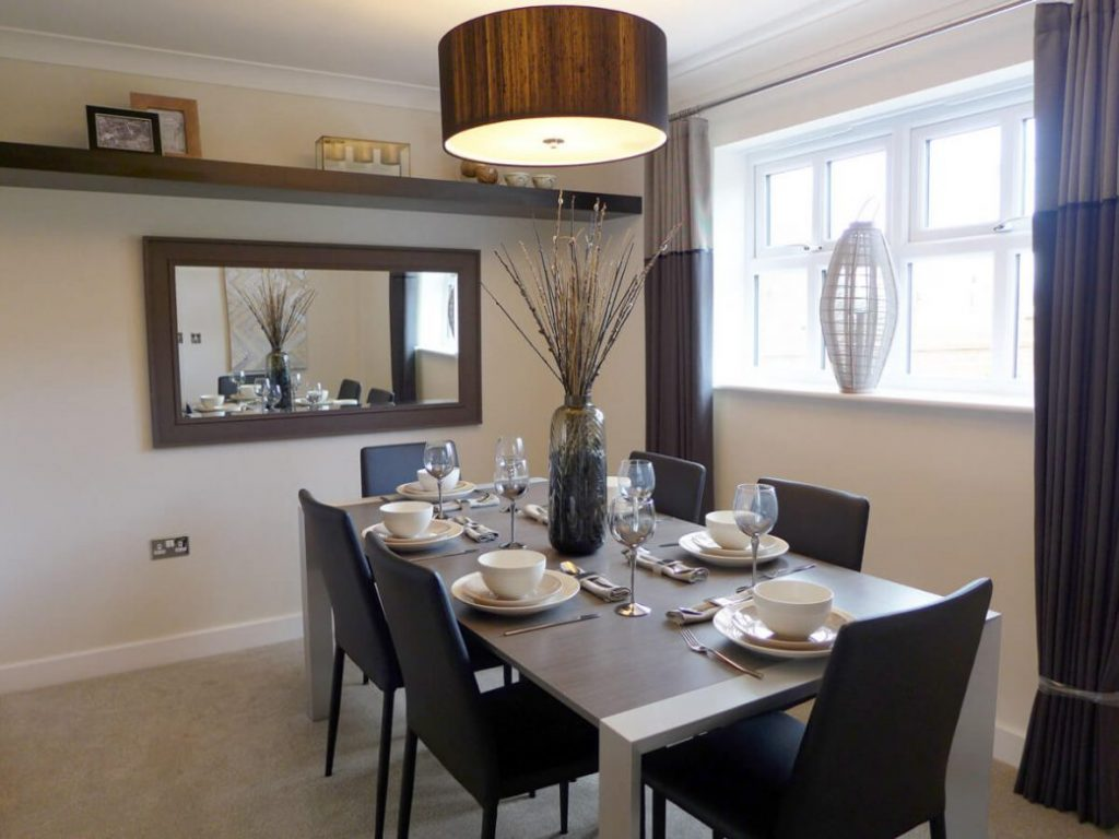 the Brearley, dining room