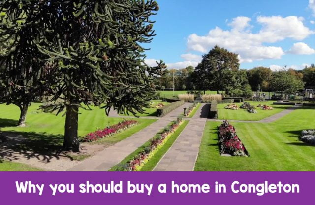 Why you should buy a new home in Congleton