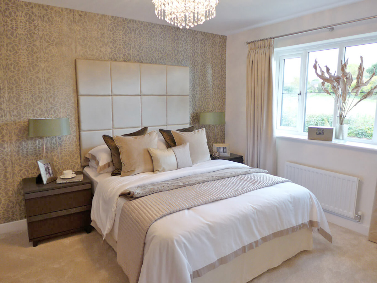 the carron master bedroom