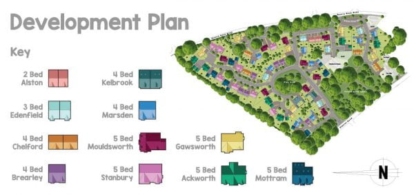 the hawthorns development plan