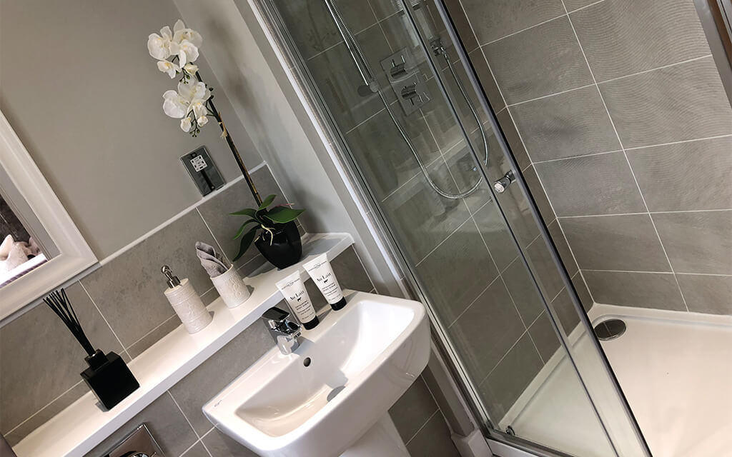 Seddon Homes shower