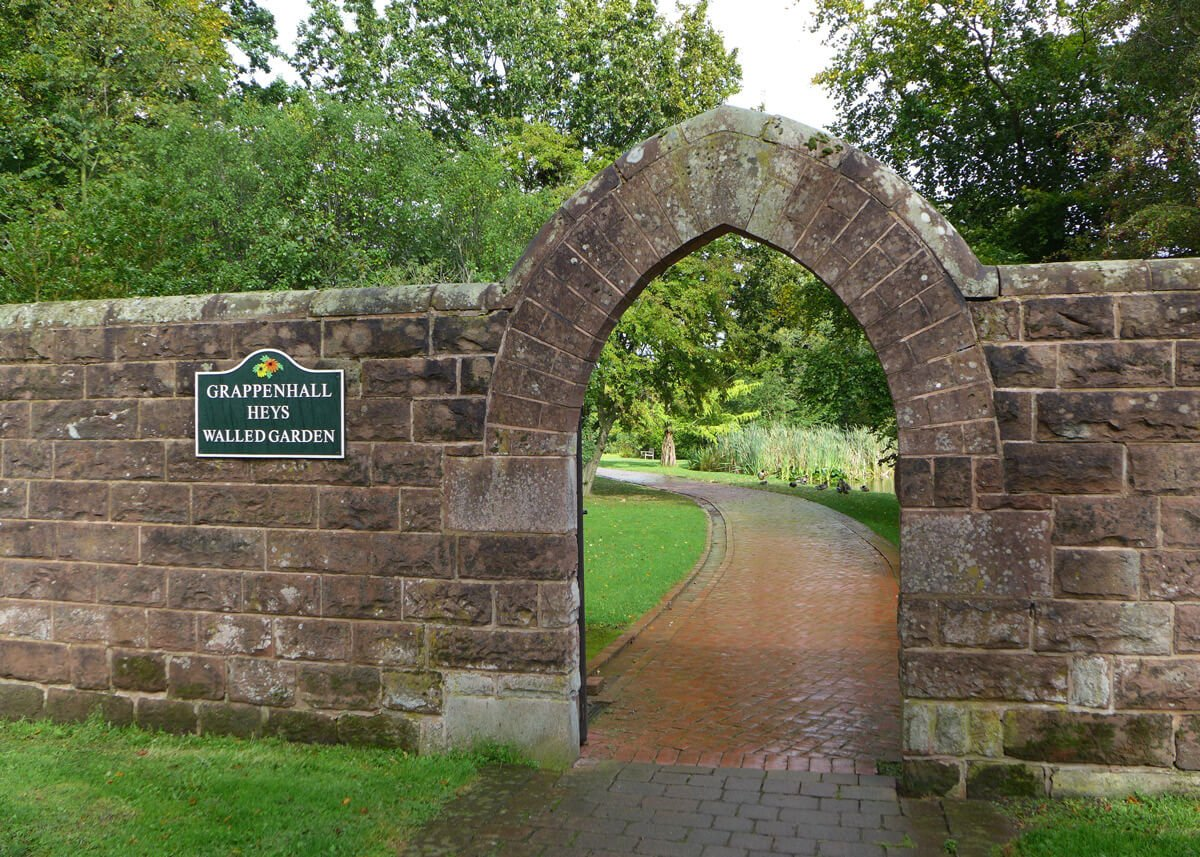 Local amenity - grappenhall walled garden