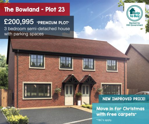 the bowland plot 23, hawtree grove