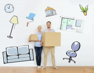 Seddon Homes Family move in