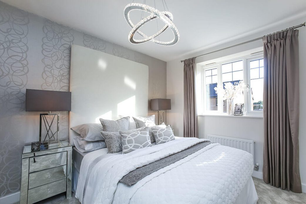 seddon homes, Mearley bedroom,