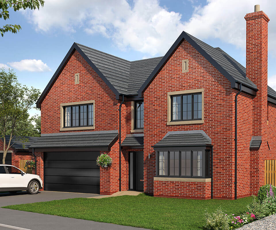 the bramhall - five bedroom detached house with integral double garage
