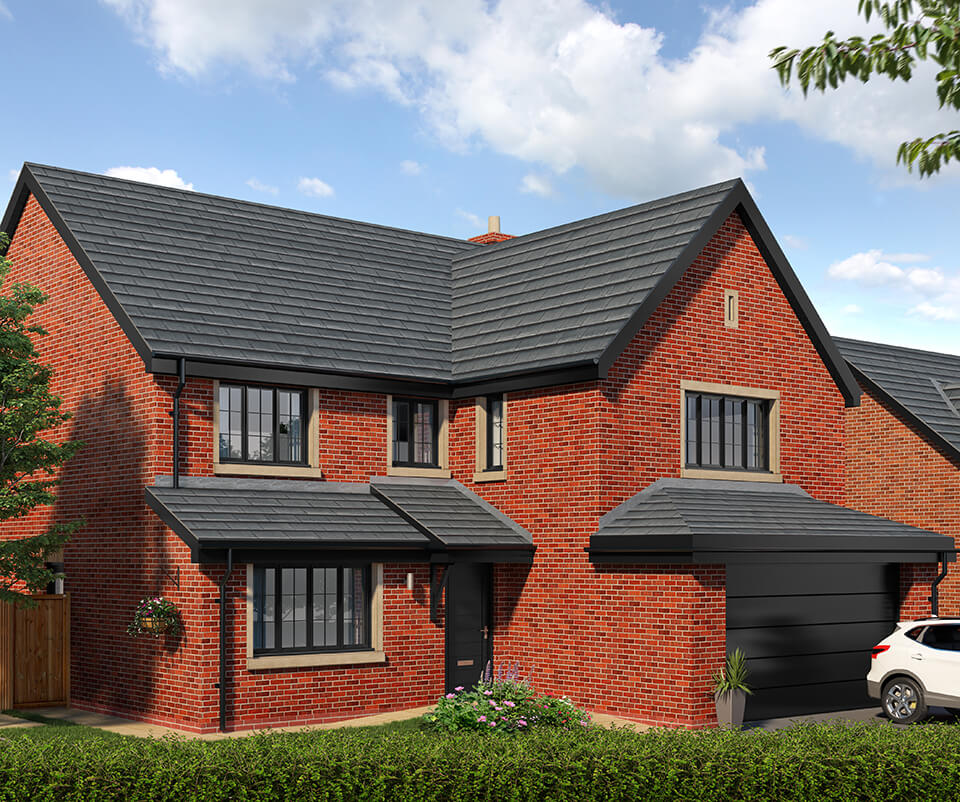 the lytham - five bedroom detached house with integral double garage