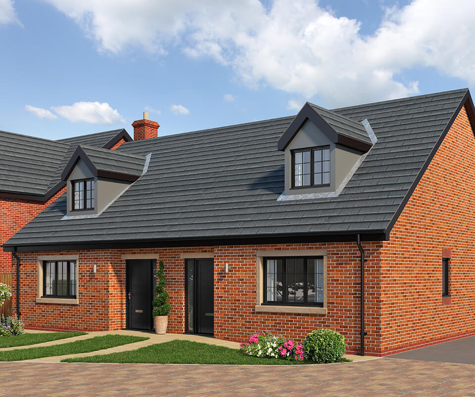 the prestbury - three bedroom semi detached house with parking spaces
