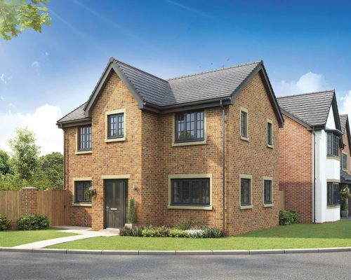 the wynbury - three bedroom detached house with detached single garage