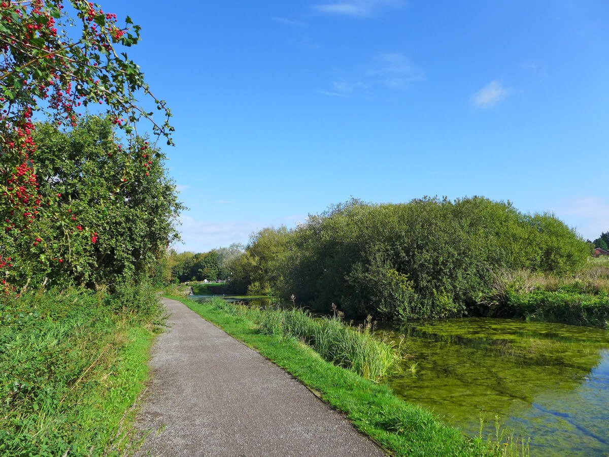 Local amenity - canal with footpath