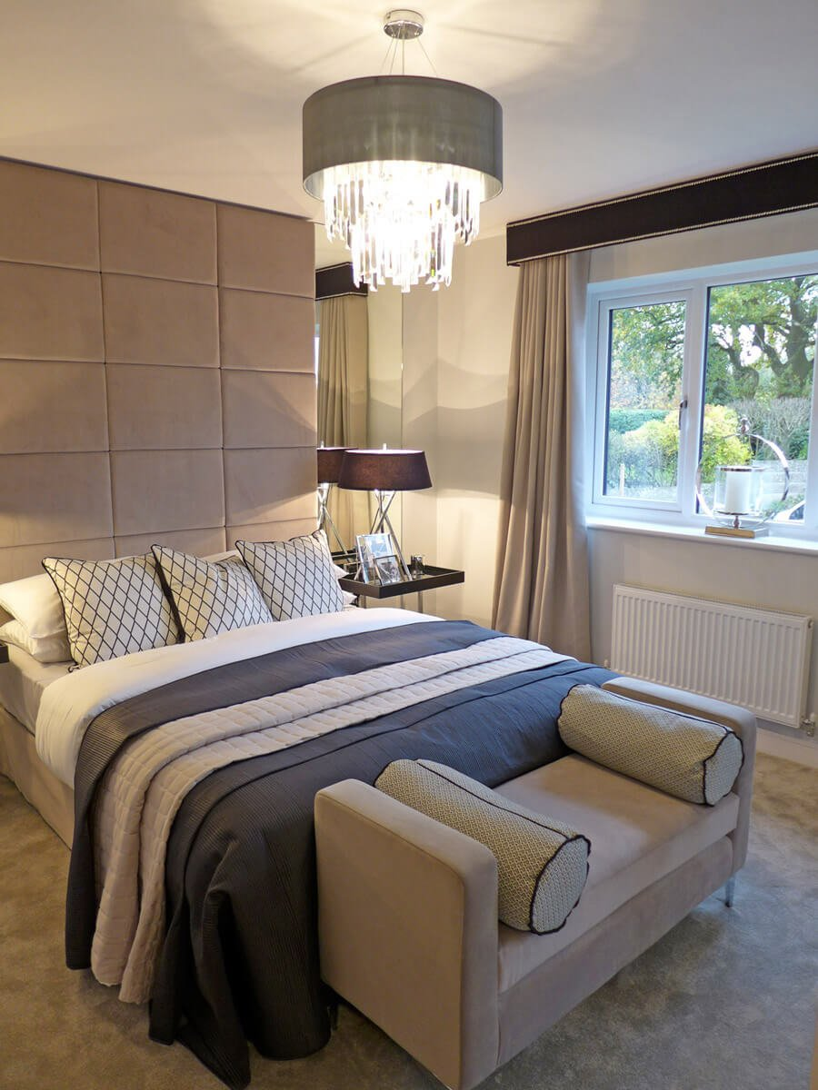Example carron master bedroom