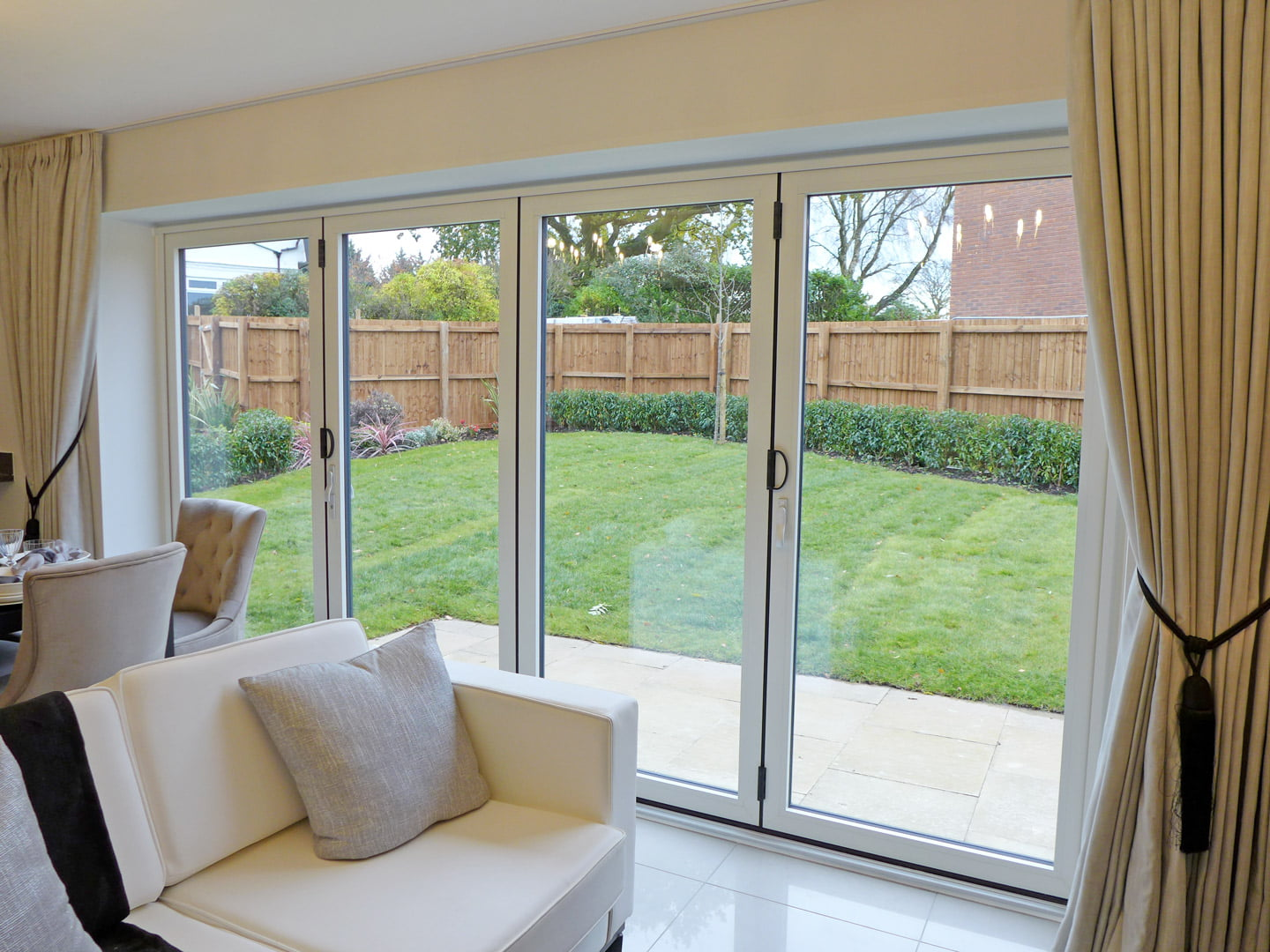 Example bi fold doors to garden