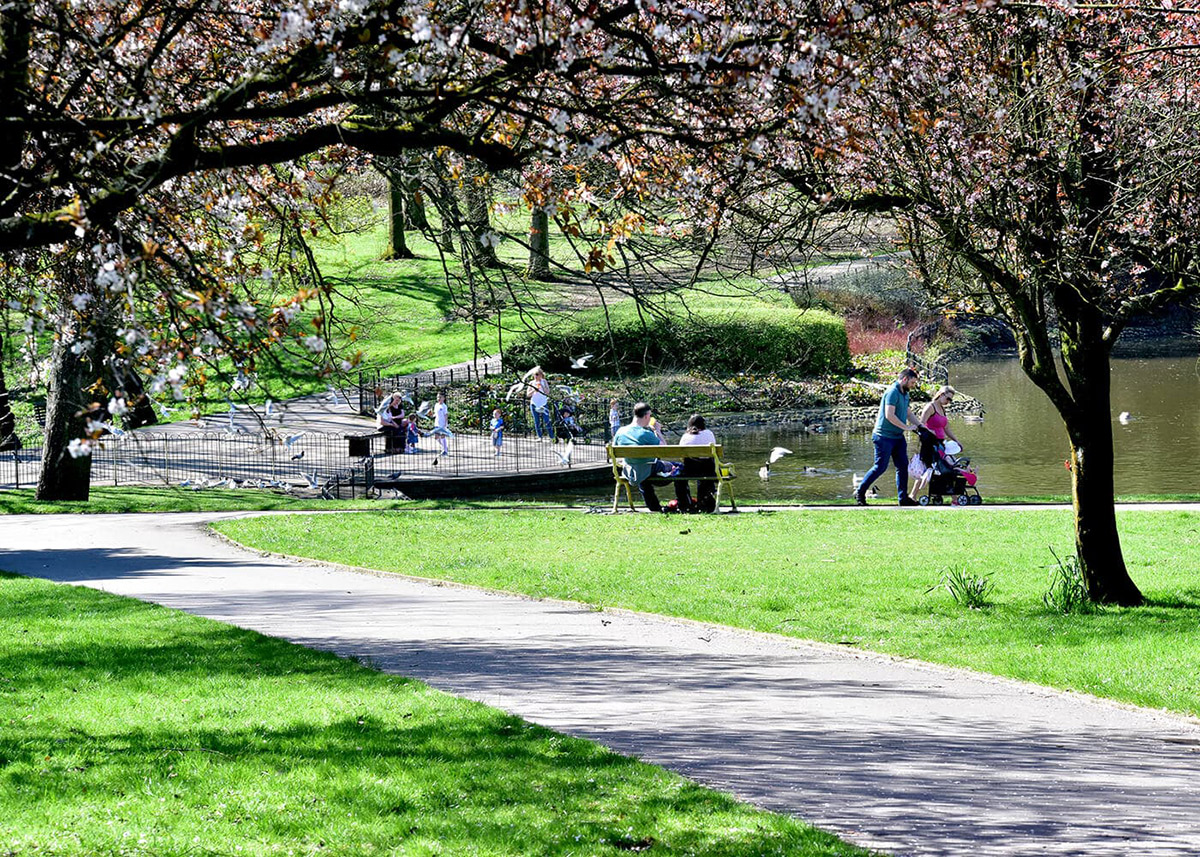 Westhoughton local park